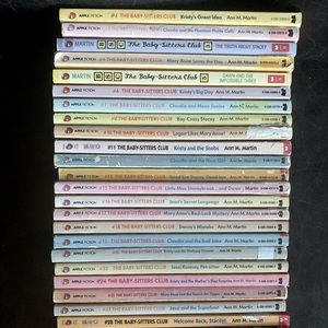 Lot of 38 Vintage Babysitter's Club/ BSC Books